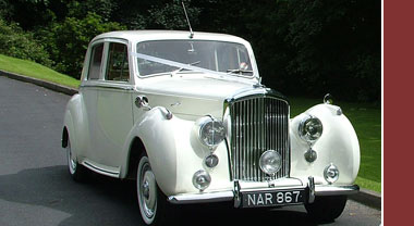 Bentley Wedding Car