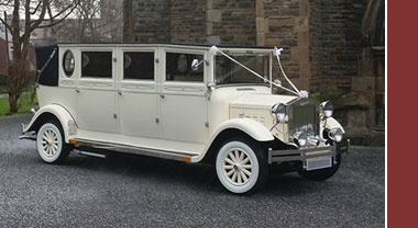 Stretch Imperial Wedding Car