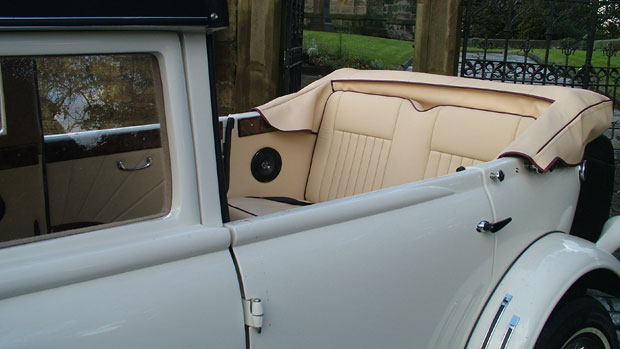 Stretched Beauford for hire