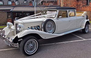 Stretched Beauford Wedding Car